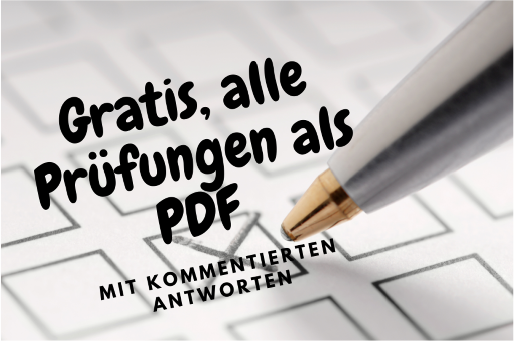 Schriftliche Prüfungen Heilpraktiker für Psychotherapie PDF Gratis